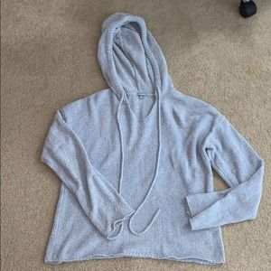blue hooded sweater from Charlotte Russe medium
